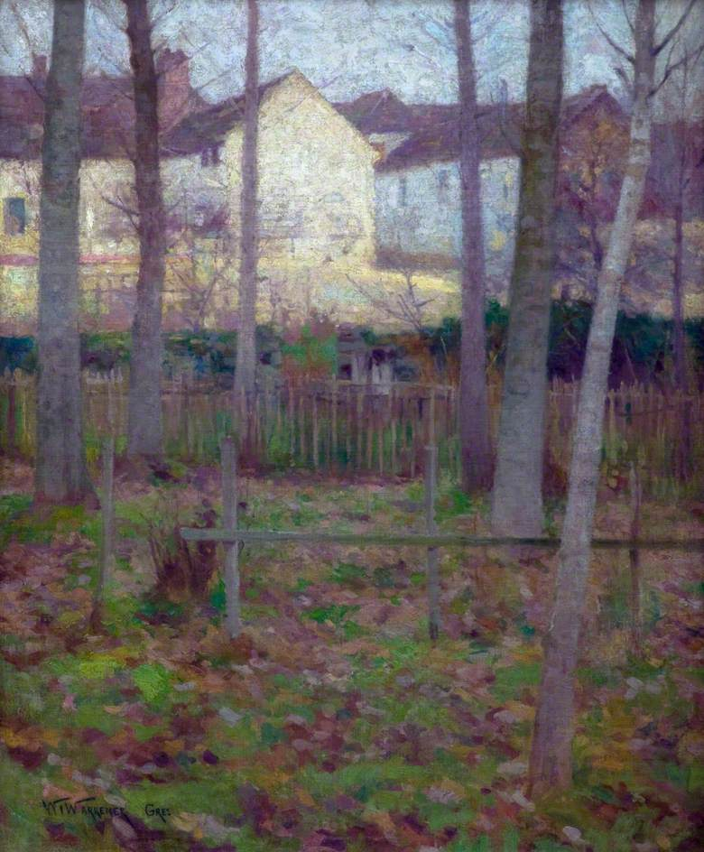 December Day at Grez-sur-Loing, France