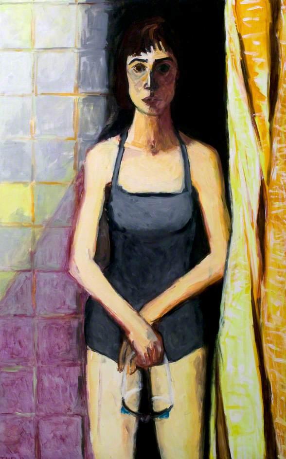 The Swimmer (Cosham Painting)