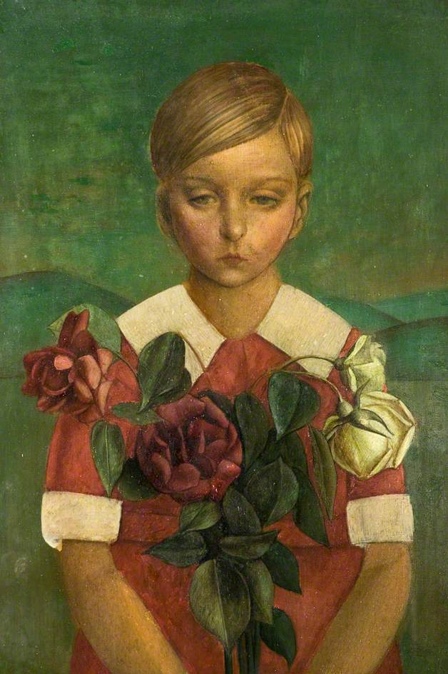 Child with Roses