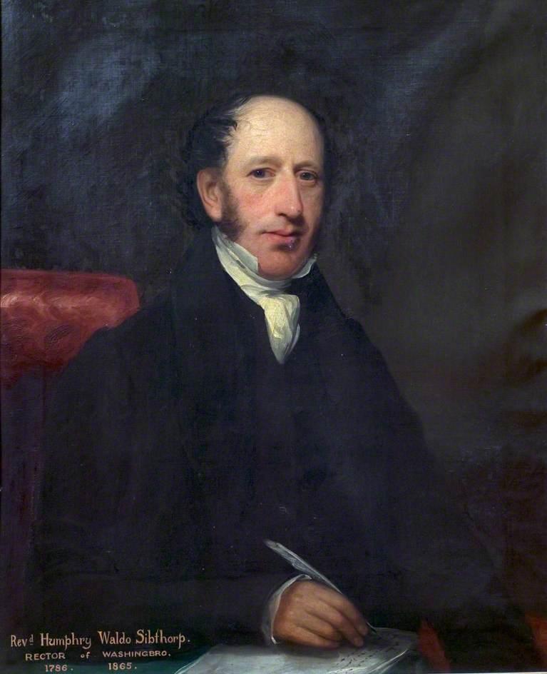 Reverend Humphrey Waldo Sibthorp (1786–1865)