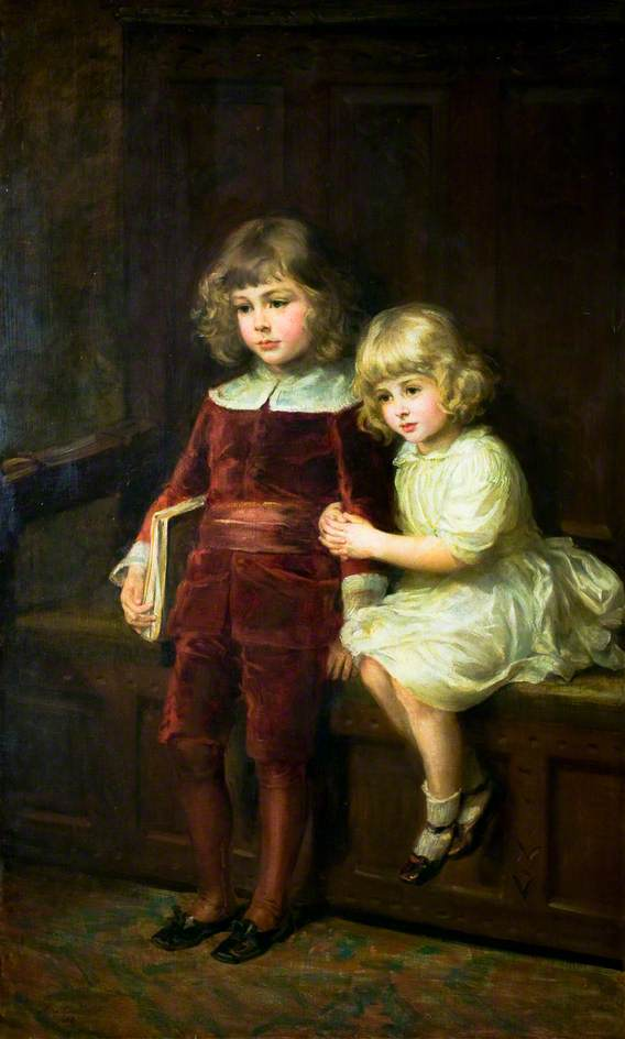 Eleanor and Lionel, Grandchildren of Alfred Tennyson