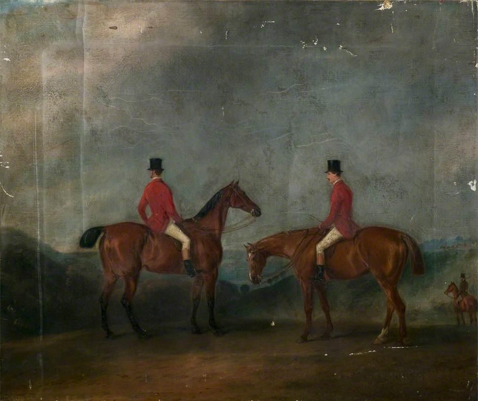 Two Huntsmen in a Landscape
