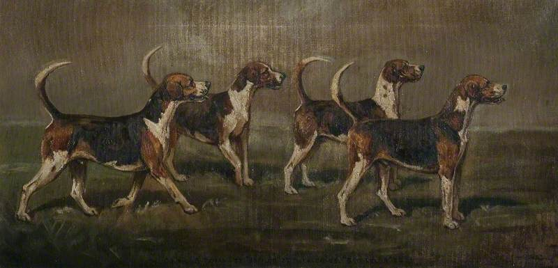Quorn Hounds, 'Batsman', 'Baffler', 'Weaver' and 'Batchelor'