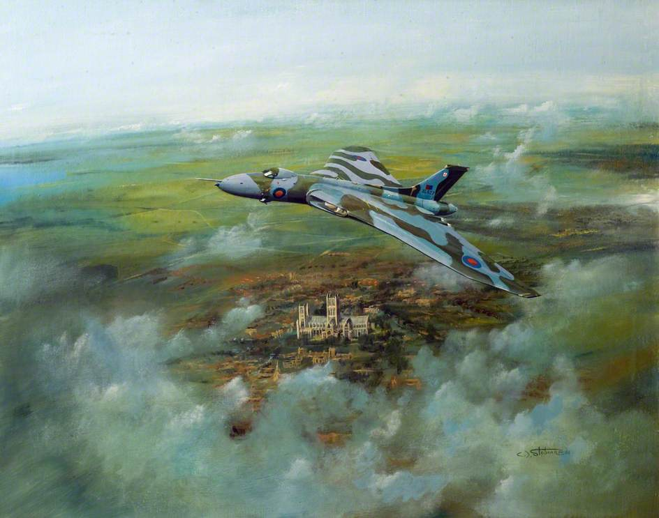 Vulcan over Lincoln