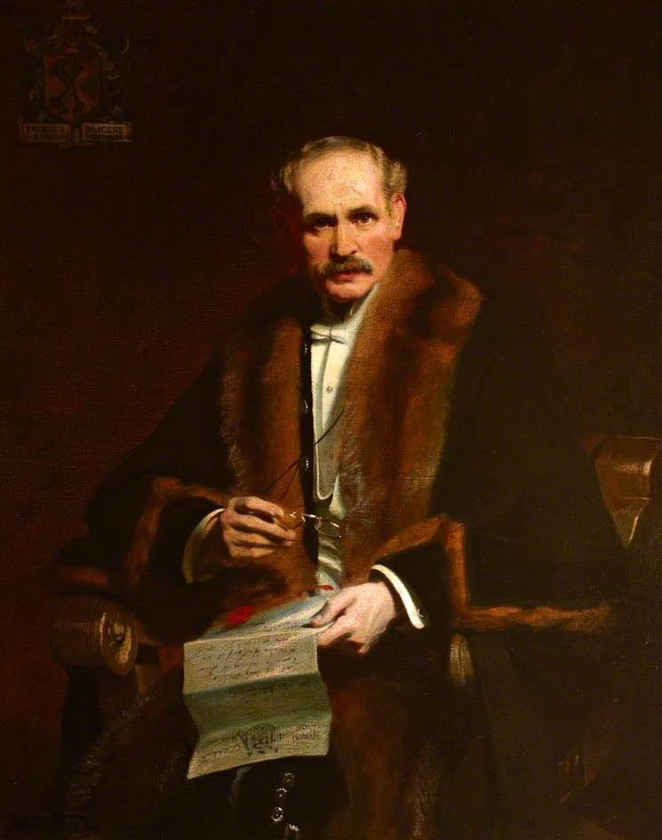 Sir John Tweedy (1849–1924), MRCS, FRCS, Hon. LLD Edinburgh
