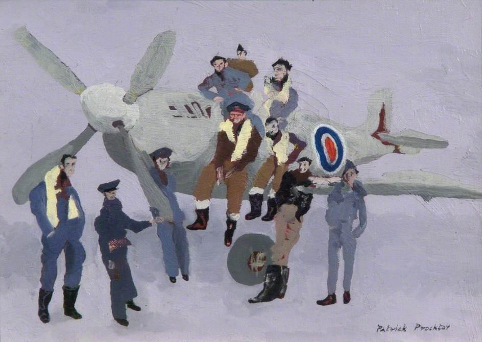 A Group of Polish Pilots
