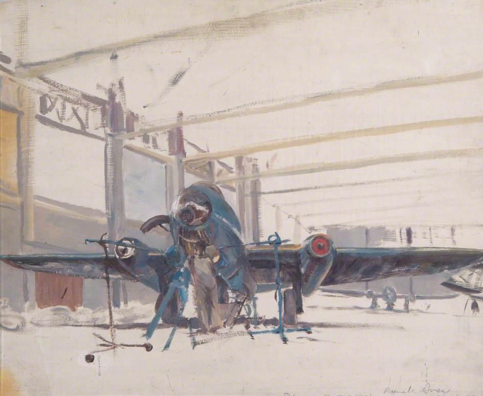 Canberra at RAF Bassingbourn