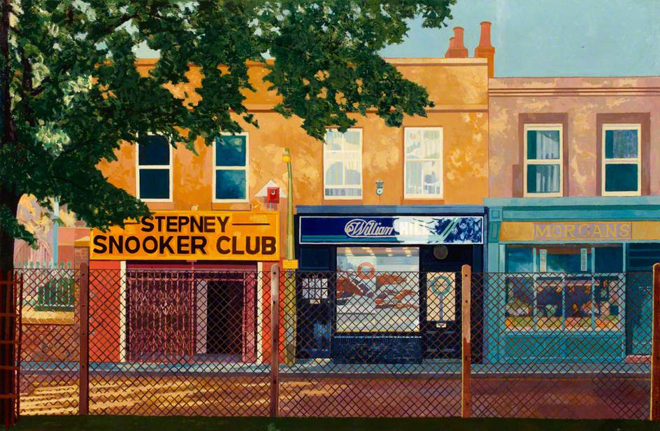 Snooker Club, Afternoon
