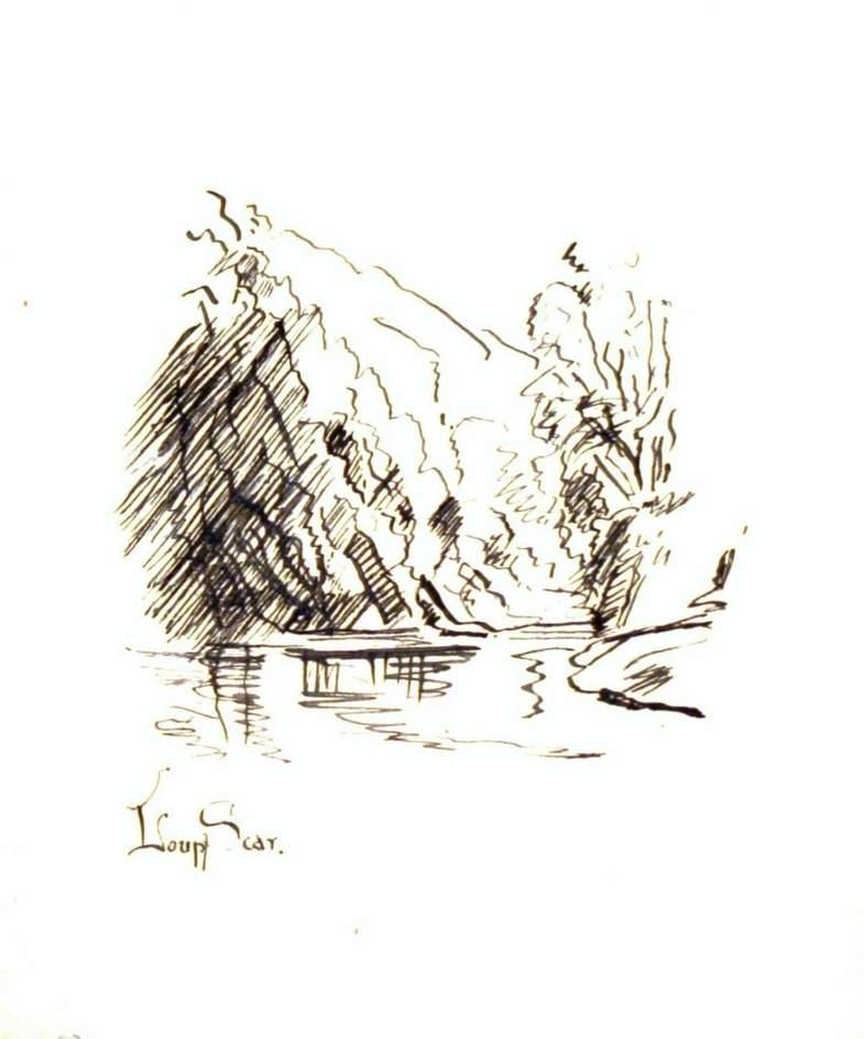 Loup Scar, River Wharfe, North Yorkshire