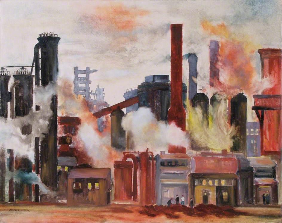 Turmoil: Industrial Scene at Cargofleet Ironworks