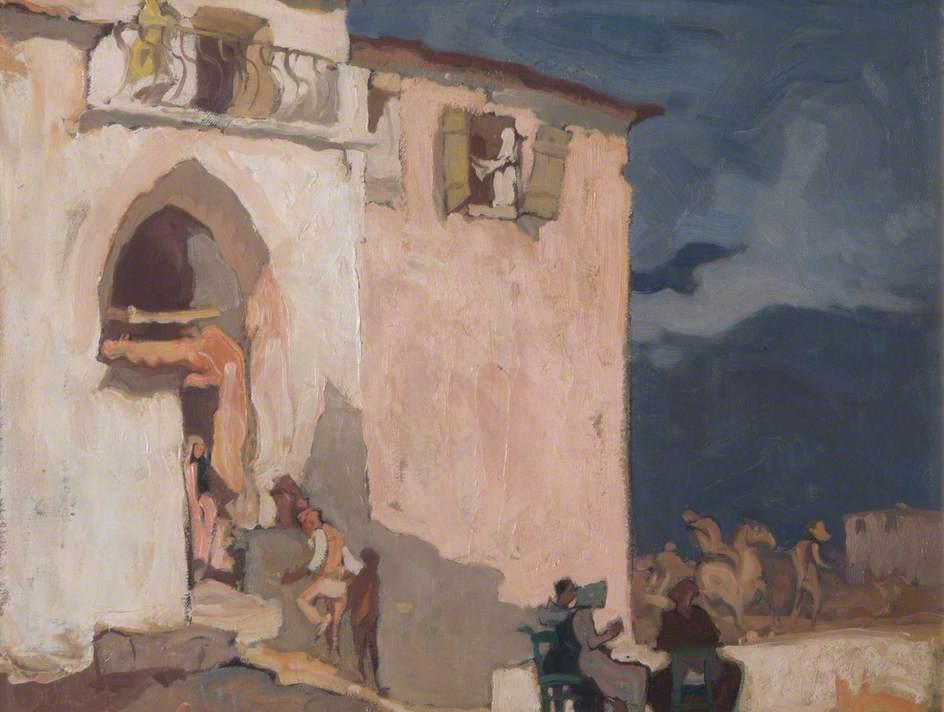 Old Houses, Taormina, Sicily