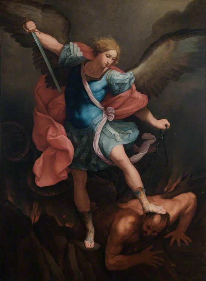St Michael Overcoming Satan