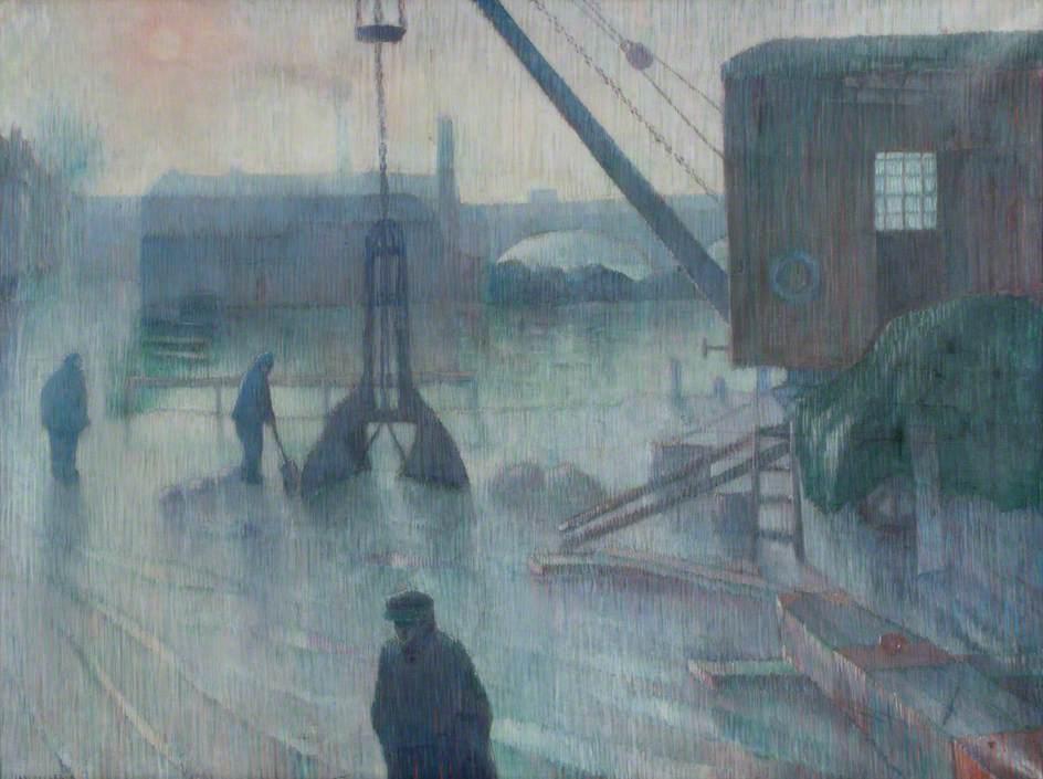 A Rainy Day at Kingston, Surrey