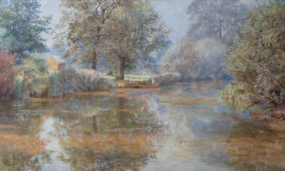 A Scene on the River Wandle