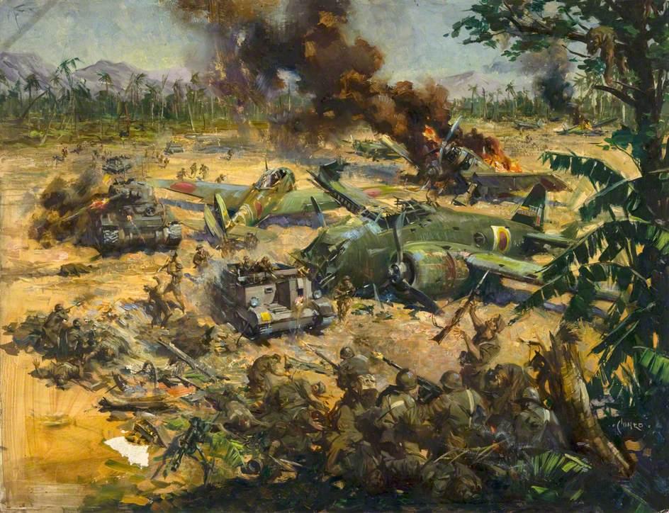 Invasion Scene in Far East