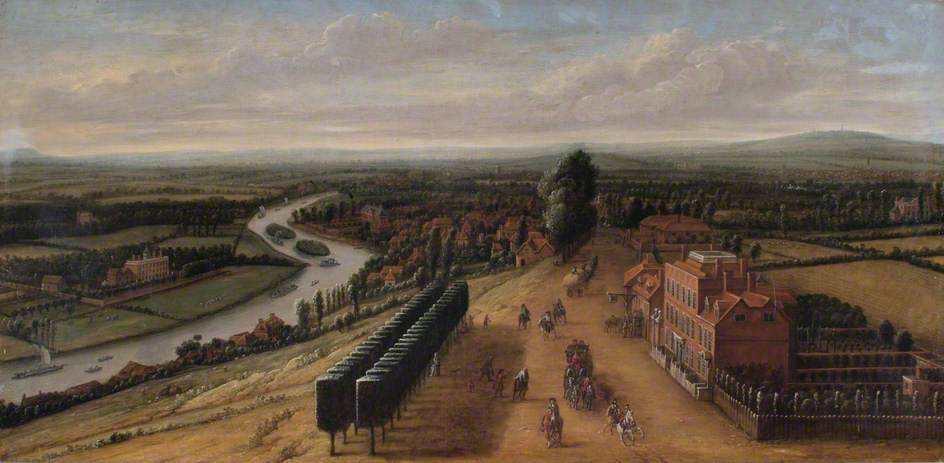 The Terrace and View from Richmond Hill, Surrey