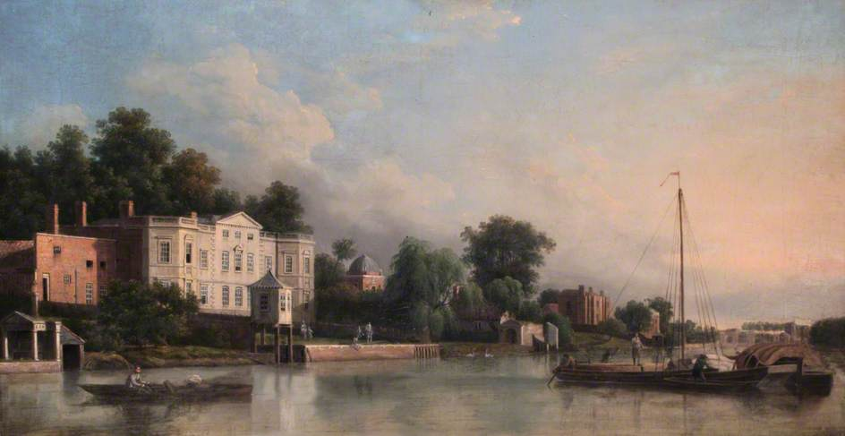 A View of Pope's Villa, Twickenham, Middlesex