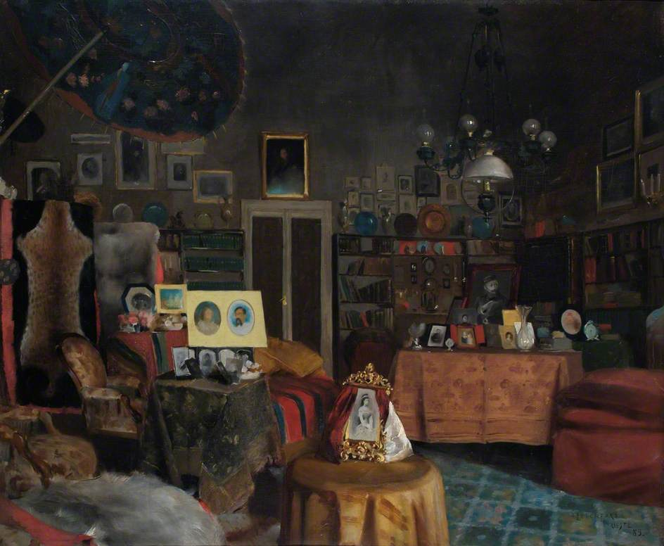 Sir Richard Burton's Study