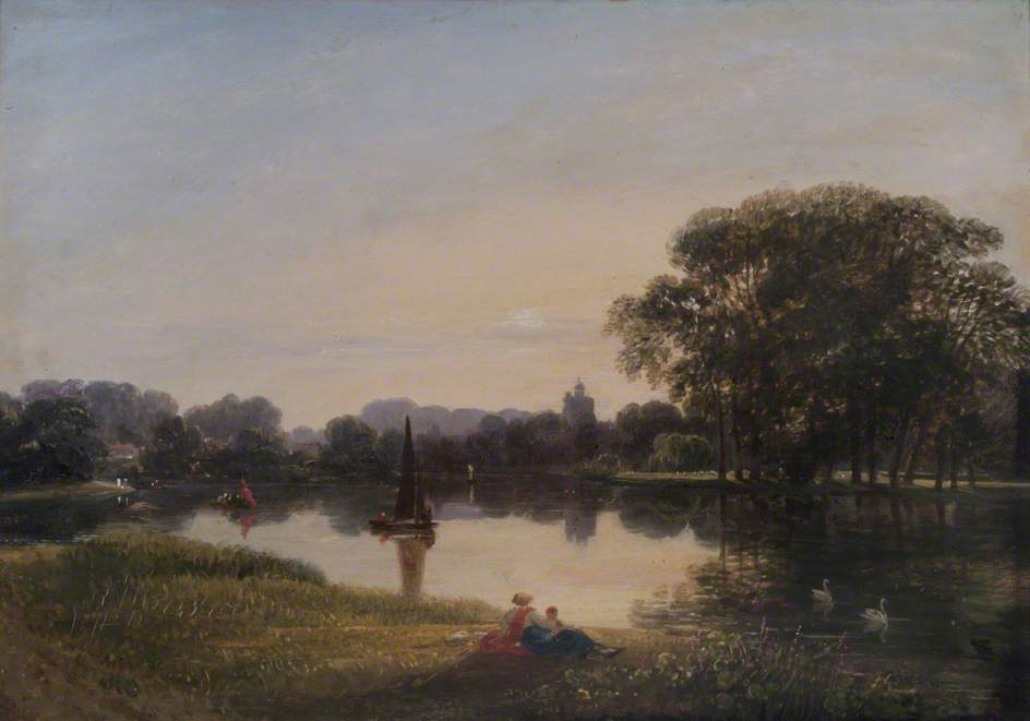 The River Thames at Chiswick, London