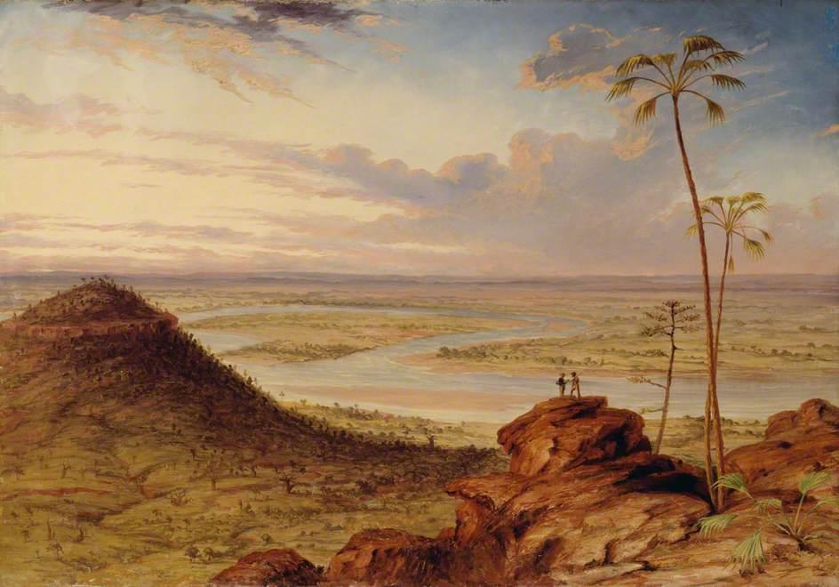 A Bend in the Victoria River, North Australia