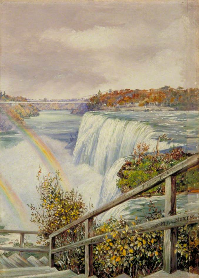 The American Fall from Pearl Island, Niagara
