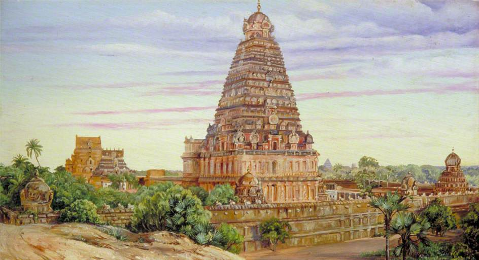 Temple of Tanjore, Southern India