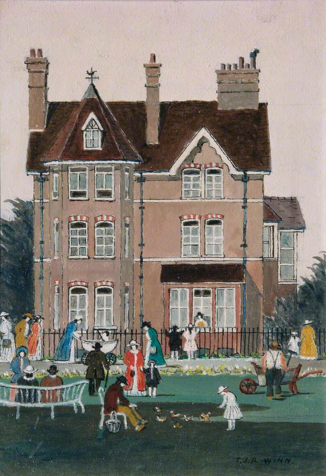 The Old Library, Sutton, Surrey (Manor Park House)