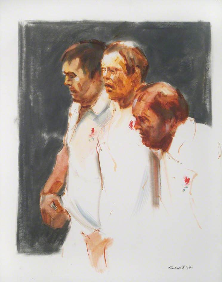 Three England Rugby Players