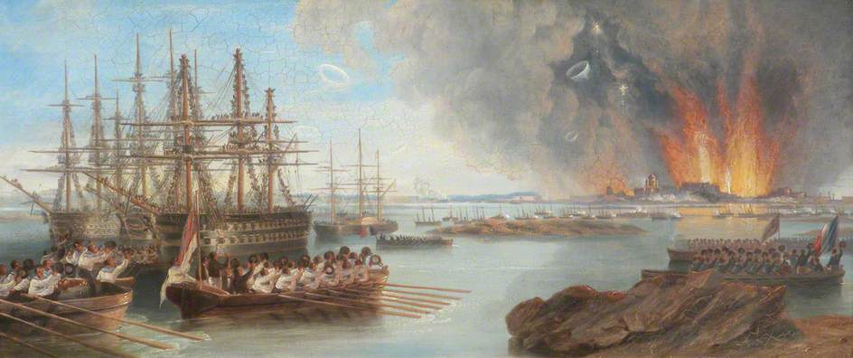 The Bombardment of Sebastopol, 1856