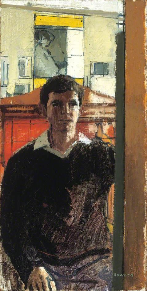 Self Portrait at Cricklewood