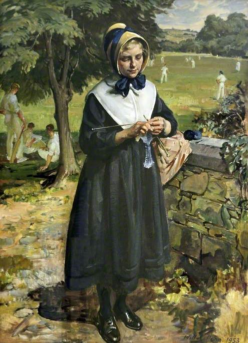 Portrait of a Girl from the Liverpool Blue Coat School