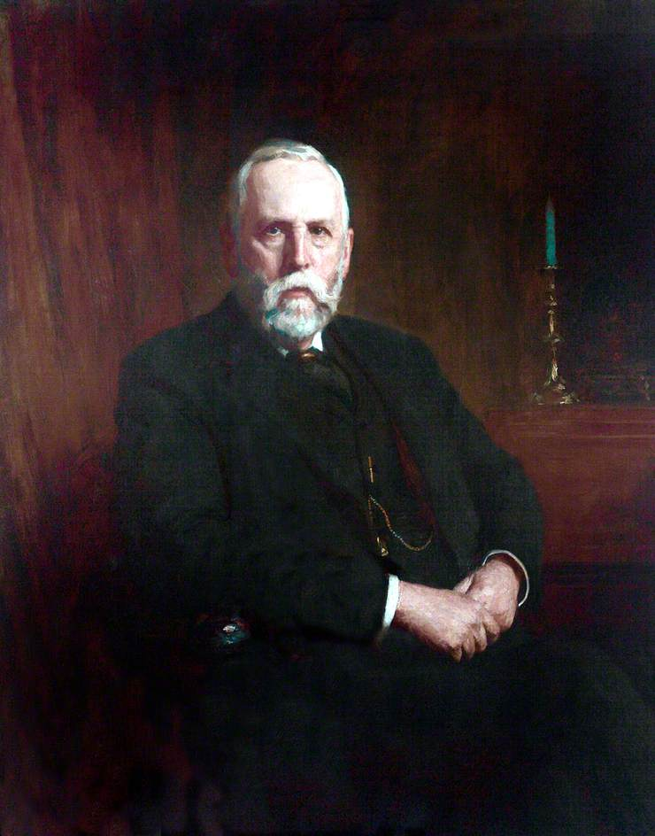 John Ernest Tinne, Esq., Trustee (1882), Treasurer of the Liverpool Blue Coat School (1885–1925)