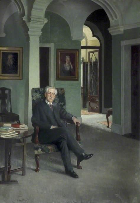Hugh Reynolds Rathbone (1862–1940), at Greenbank House