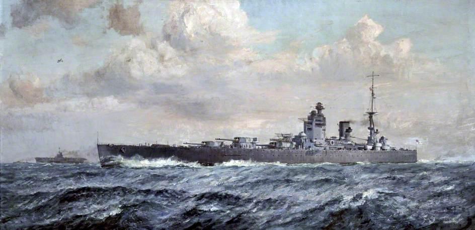 HMS 'Rodney'