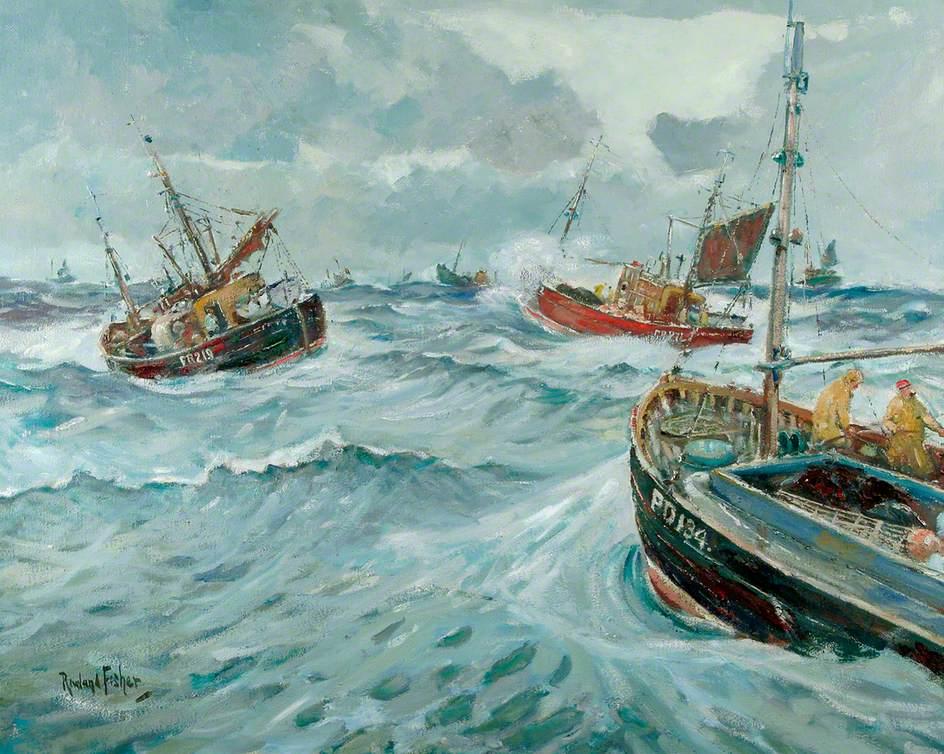 Scots Fishing Boats