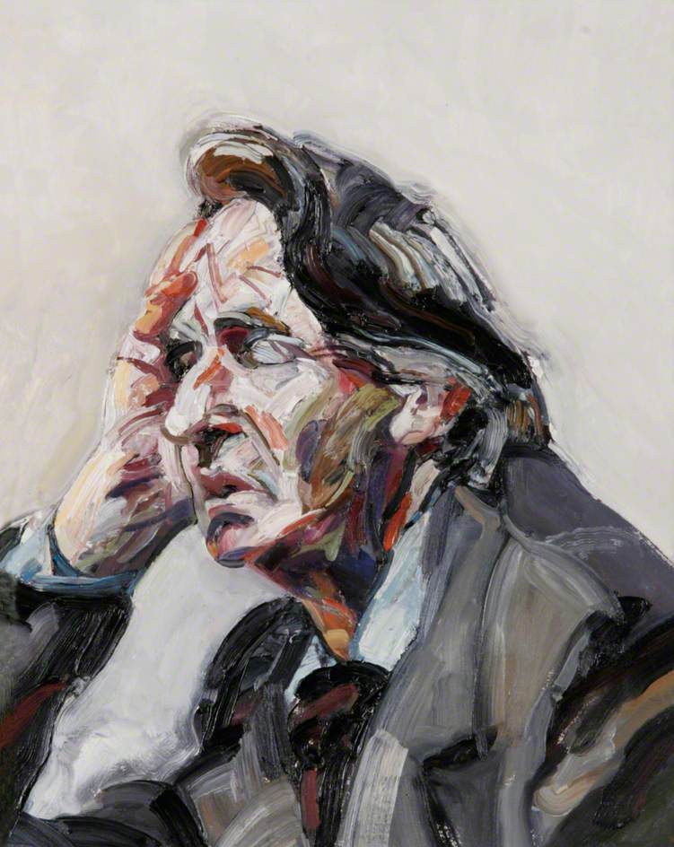 Preparatory Study for 'The Head of a Warder at the National Gallery'