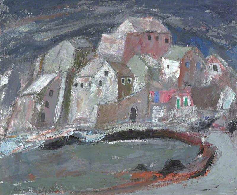 Storm in a Corsican Village (Erbalunga)