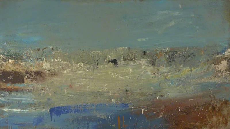 Seascape (Foam and Blue Sky)