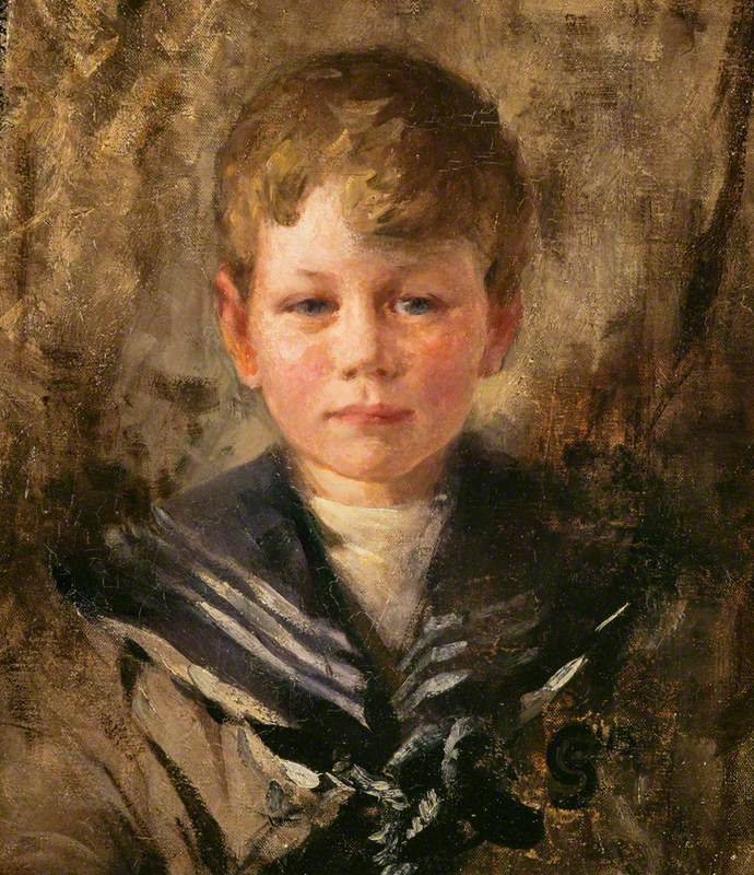 Alexander Esme Gordon (b.1910), Architect, as a Child