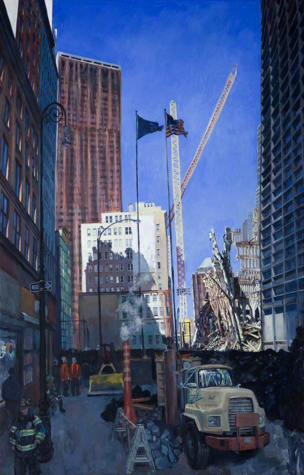 Ground Zero, September 2001