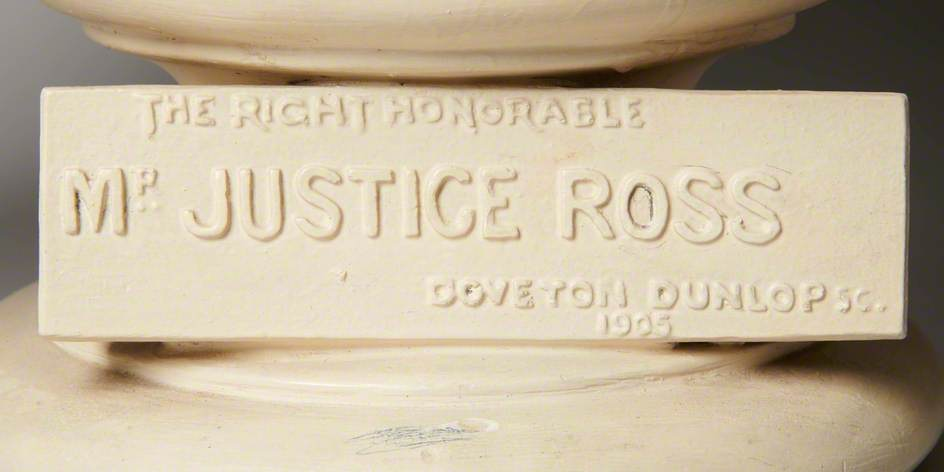 The Right Honourable Mr Justice Ross