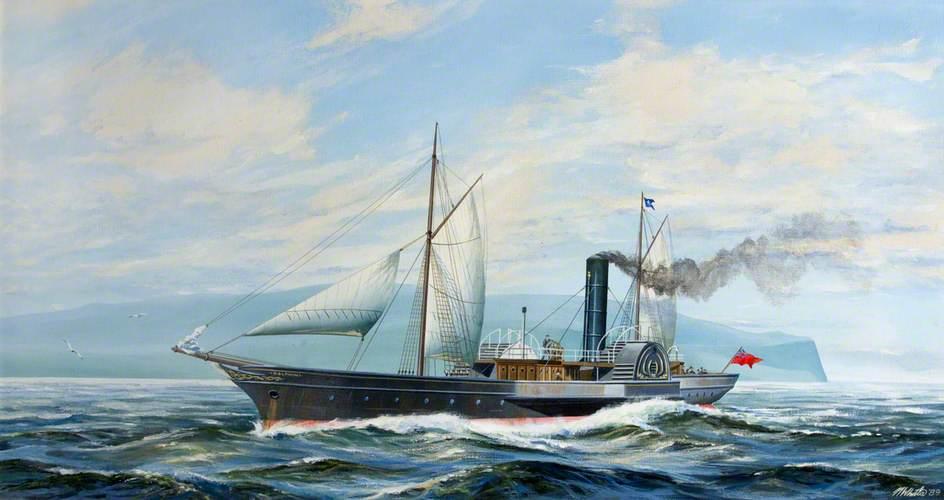 Steam Yacht 'Dolphin'