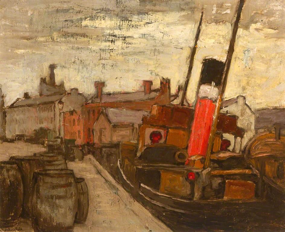 Boat at Dock, Belgium