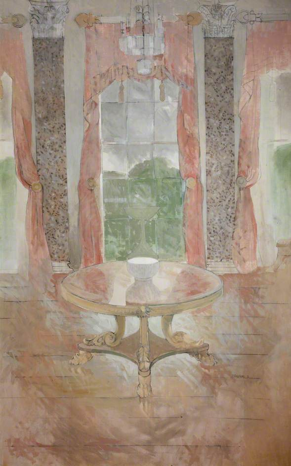 The Saloon at Castle Coole