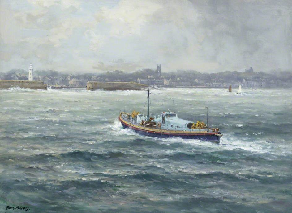 The Lifeboat 'Sir Samuel Kelly'