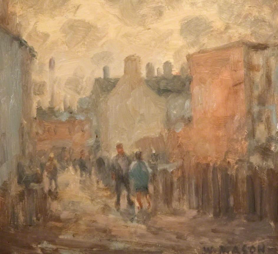 A Busy Street Scene