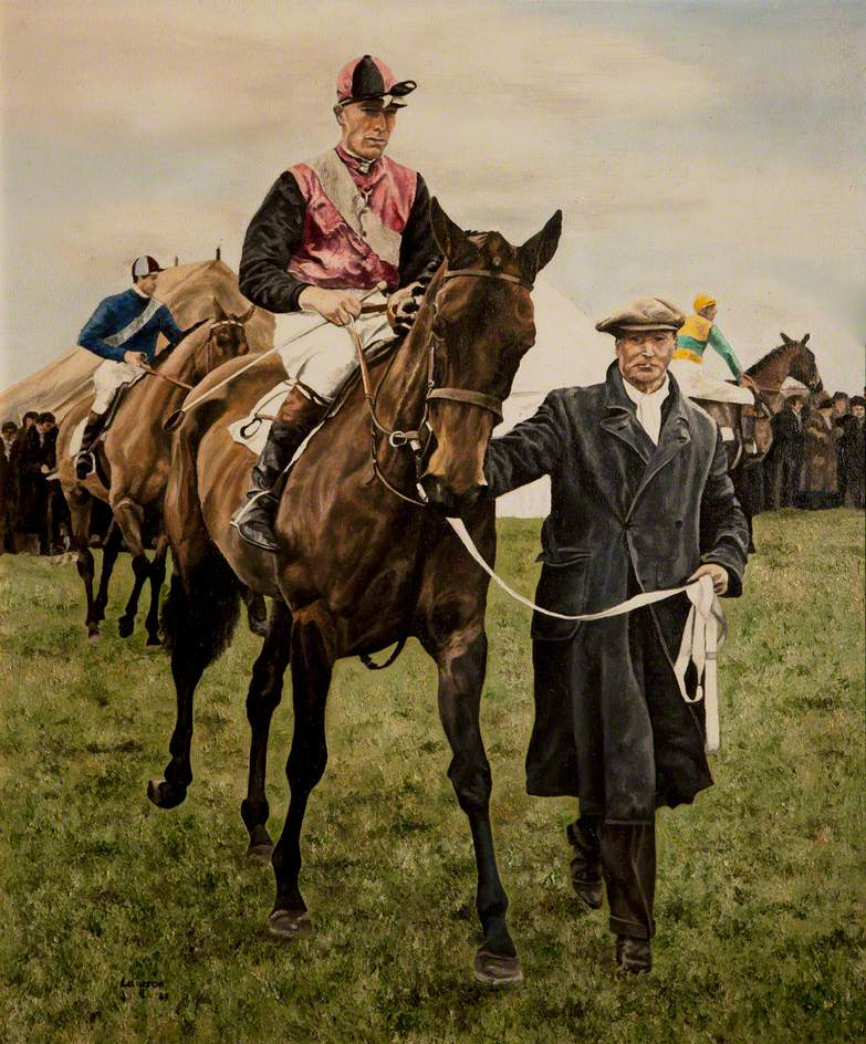 Horse and Trainer – George Gault