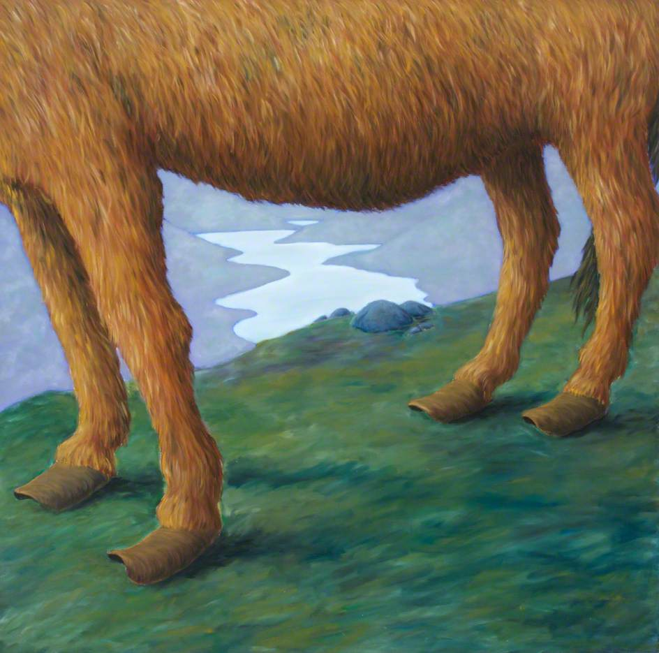 Henry's Dawn (Landscape with Donkey's Feet)