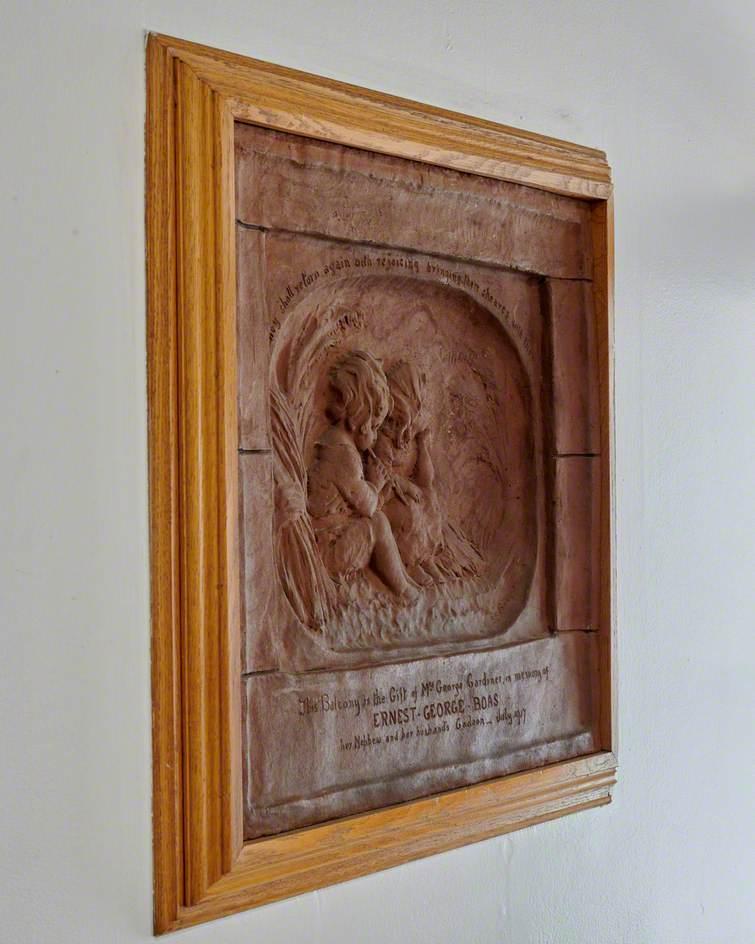 Memorial to Lt. Ernest G. Boas