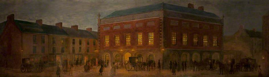 The Old Belfast Exchange, 1792